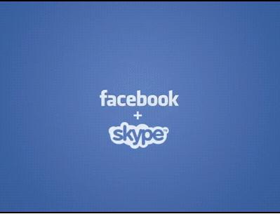 facebook skype video callin