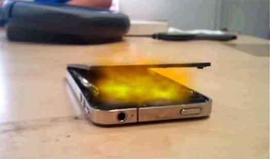 iphone 5 overheating