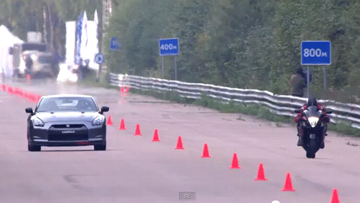 Bikes Vs Cars Race Bike Will Win Everytime