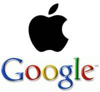 apple leads google