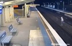 boy escapes train death