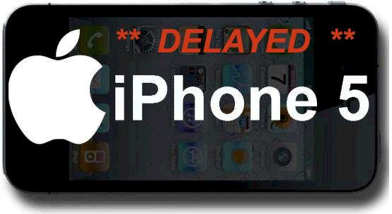 delayed iphone 5