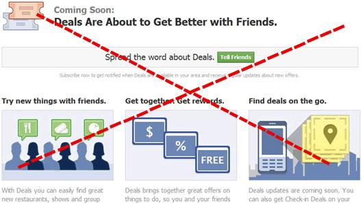 facebook daily deals