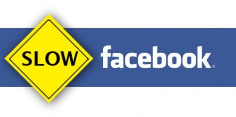 facebook running slow