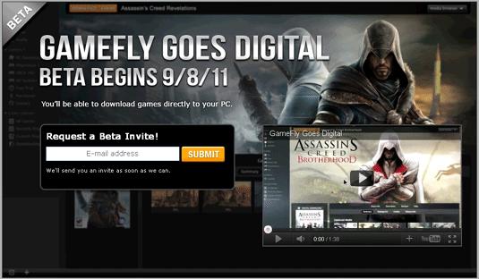 gamefly beta invite