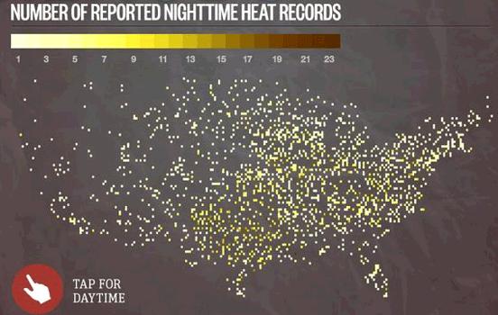 heat records july night
