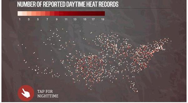 heat records july