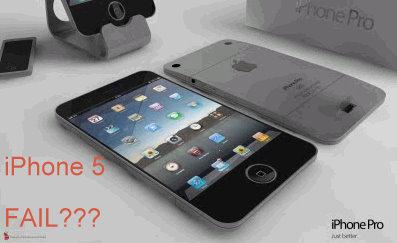iphone 5 fail