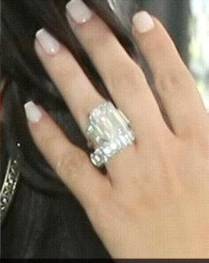 kim kardashians wedding ring