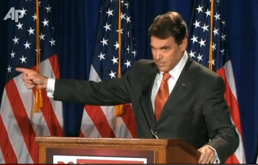 rick perry presidential can