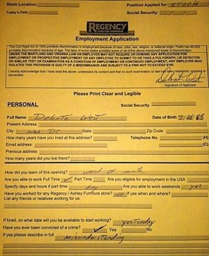 delonte west furniture store application