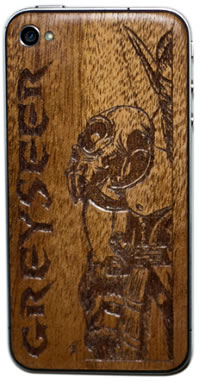 custom etched iphone 5 back