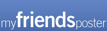 facebook friends poster for wall
