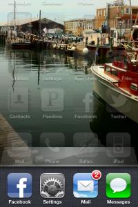 reset iphone application