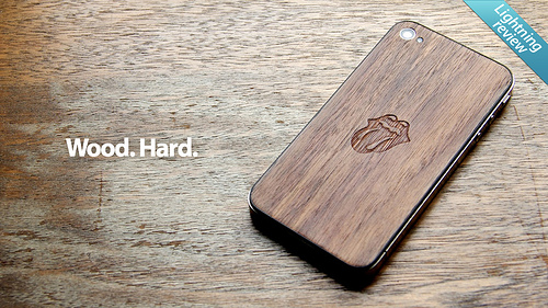 iphone 5 wooden back