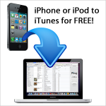 transfer music iphone to itunes