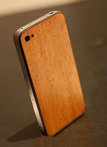 real wood iphone 5 back