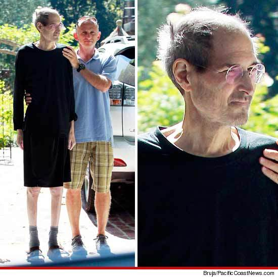 steve jobs sick pictures before death
