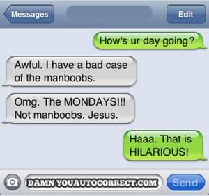 manboobs autocorrect