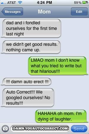mom autocorrect mistakes