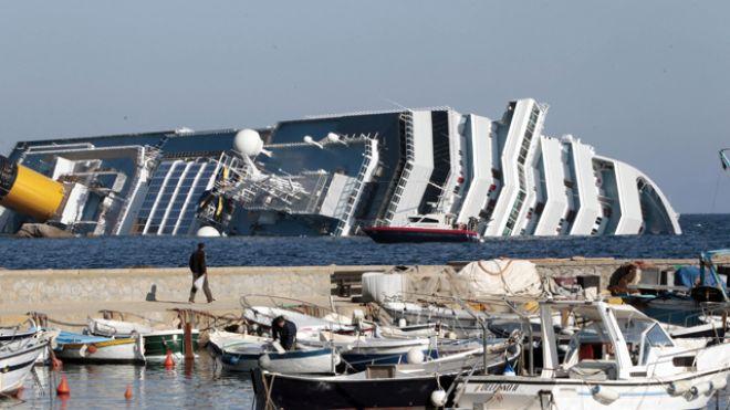 italy cruise ship sinking
