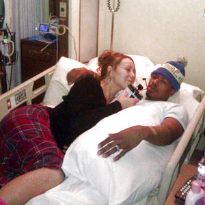 nick cannon hospital picture