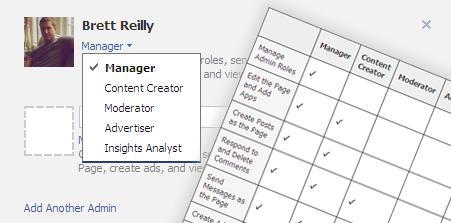 manage facebook admin roles