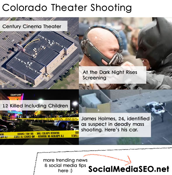 Colorado Shooter Youtube: Colorado Movie Theatre Shooting : {Video & Pictures}