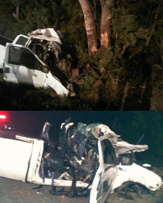 texas immigrant pickup crash 14 dead