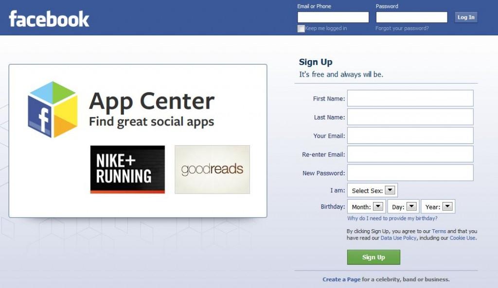 facebook app store ad