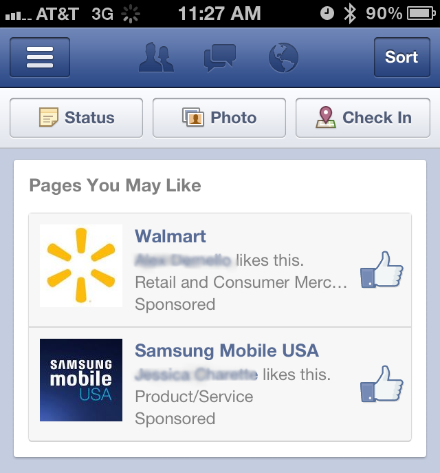 facebook experimenting with ads1