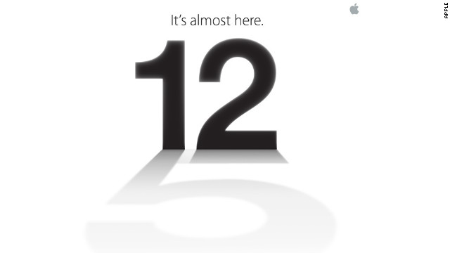 iphone 5 release september 12 2012
