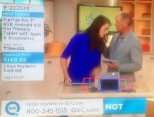 QVC Host Faints Video