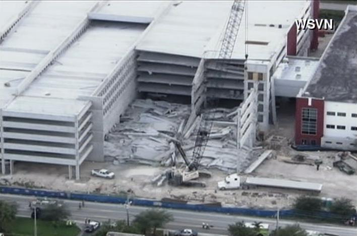 miami garage collapse
