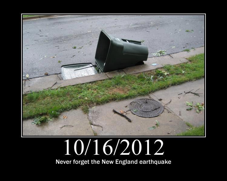 new england earthquake 2012