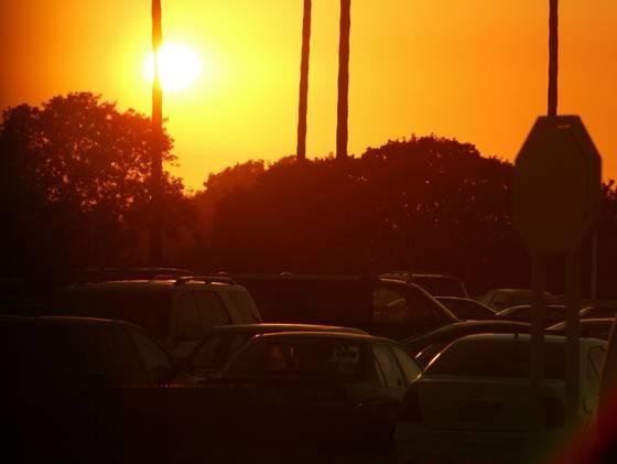 california man fire parking