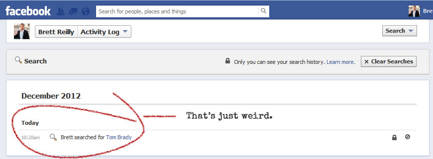 get rid of facebook search history1