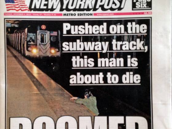new york post subway accident