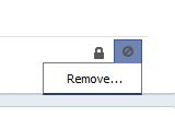 remove facebook search history activity log