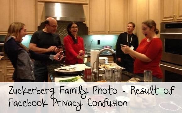 zuckerberg family photo leak