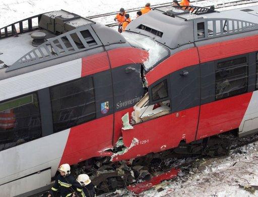 head-on-train