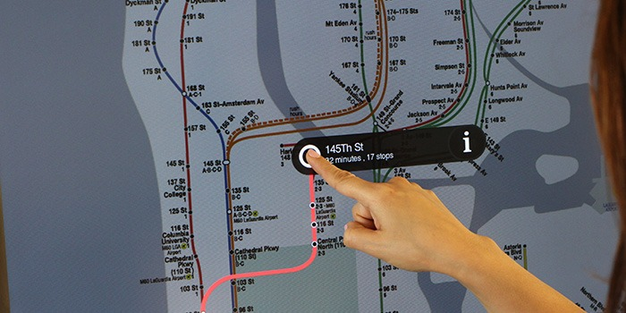 nyc subway lcd touchscreens 3
