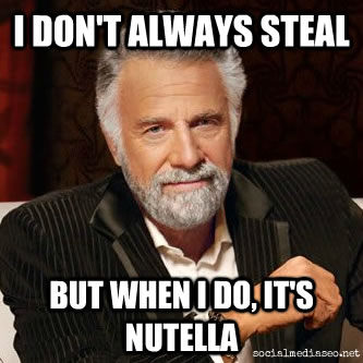 5 tons nutella stolen