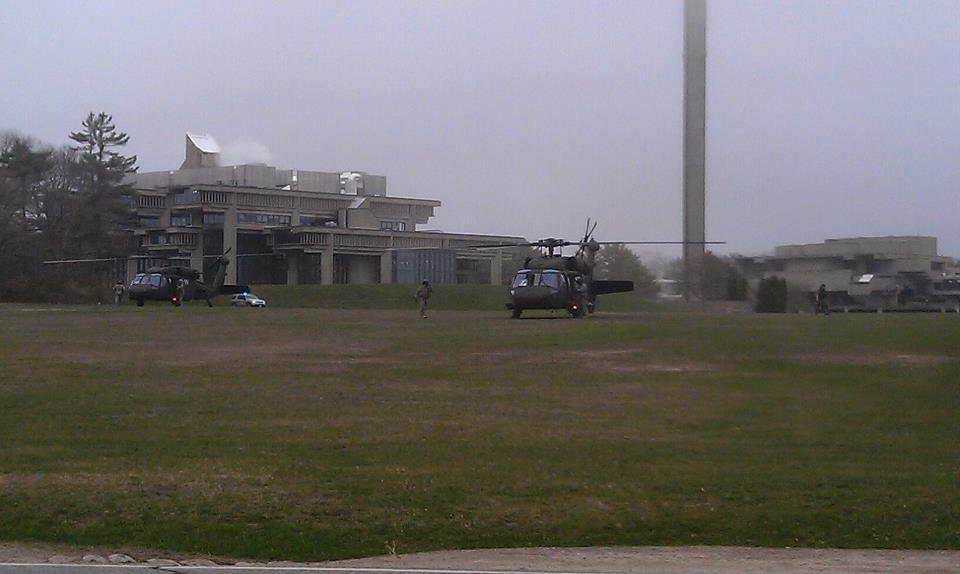 apache-helicopters-umass-darmouth-lockdown