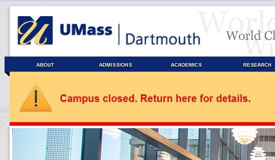 umass-dartmouth-closed-bomber