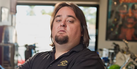 "Reality Tv star Austin Russel, also known as ""Chumlee"" on"