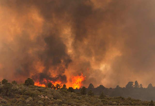 arizona wild fire 19 firefighters