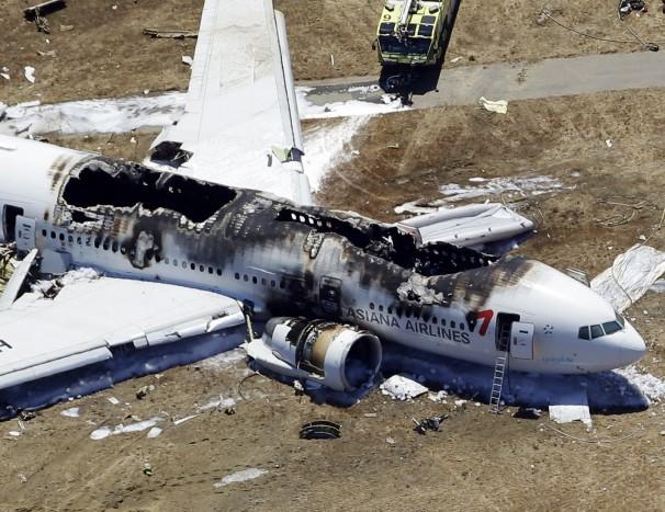 plane crash san francisco