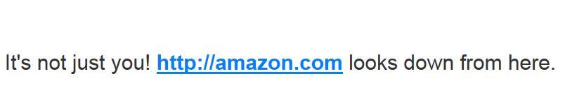 amazon website down