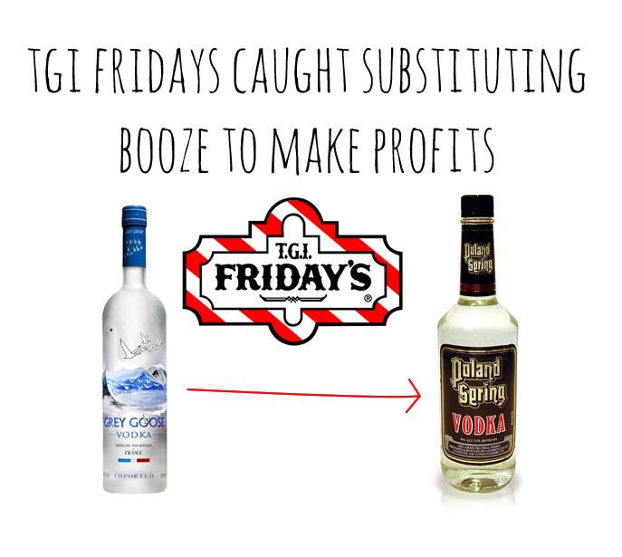 tgi fridays booze substitute